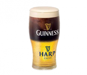 Ирландское резаное Guiness Harp