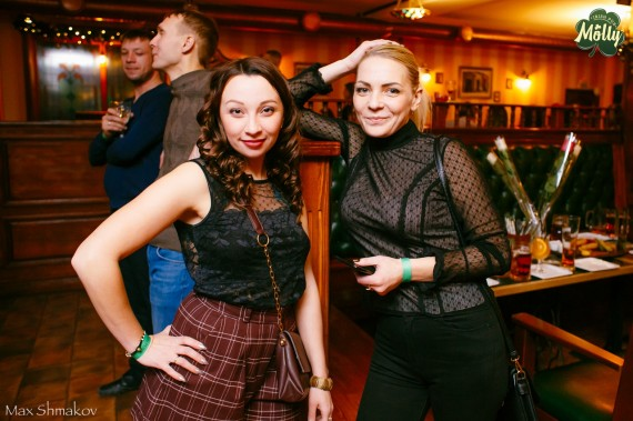 14 декабря Irish pub MOLLY