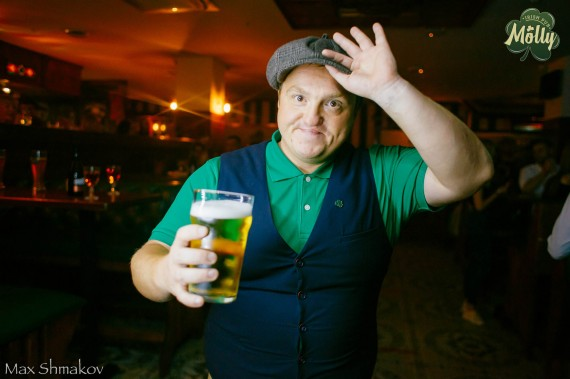 Фотоотчет 25 июля 2020 Irish pub MOLLY