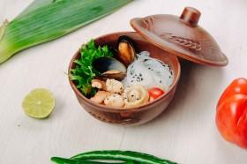 Фунчеза с морепродуктами